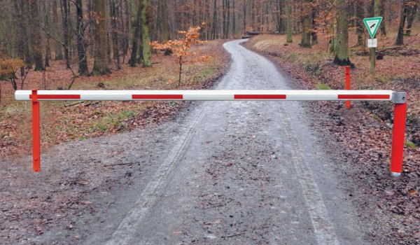 WES 215 horizontal drehende Forstsperre