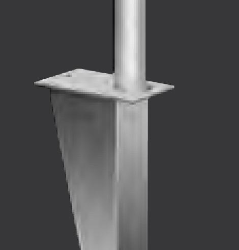 Aluminium-Universalhalterung, Typ U