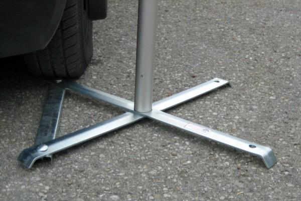 Drehkreuz-Klappständer DK-Stahl 820mm