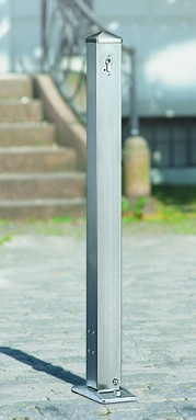 Sperrpfosten ASE 52/1 - 52/7 70 x 70 mm