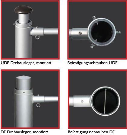 UDF/DF Ausleger-Nachrüst-Set