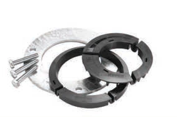 Exzenter-Ringe für Schraubfundament Fa. Sonnleithner